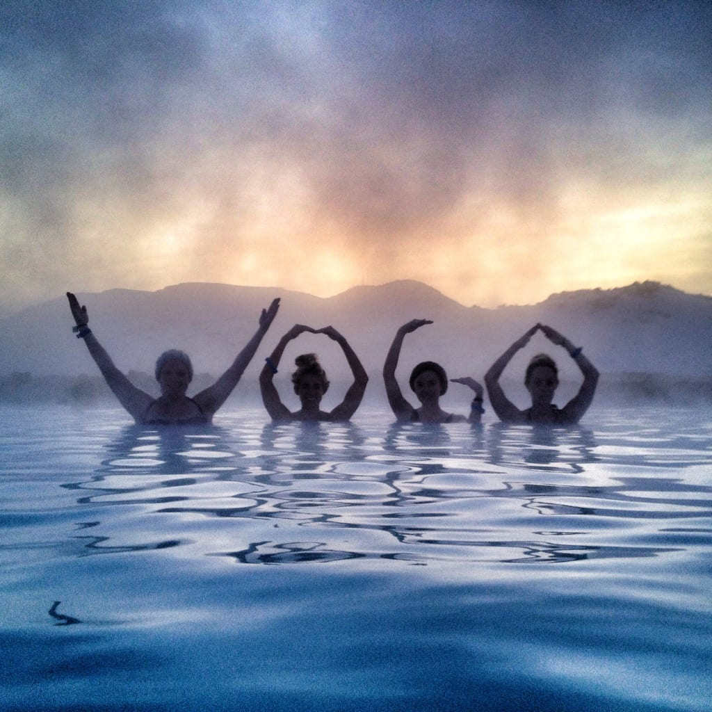 yoga retreat Iceland