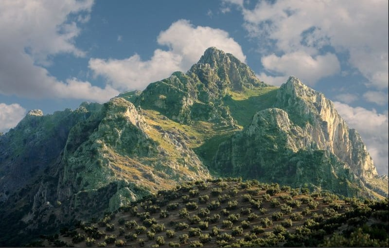 subbetica mountain
