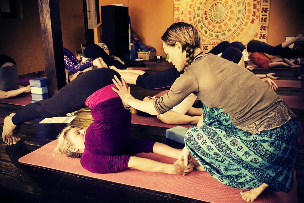 yoga and pilates retreat