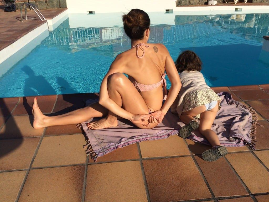 yoga and motherhood