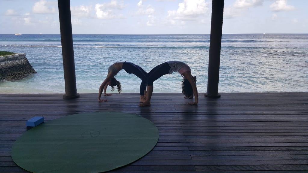 Anantara Veli yoga class