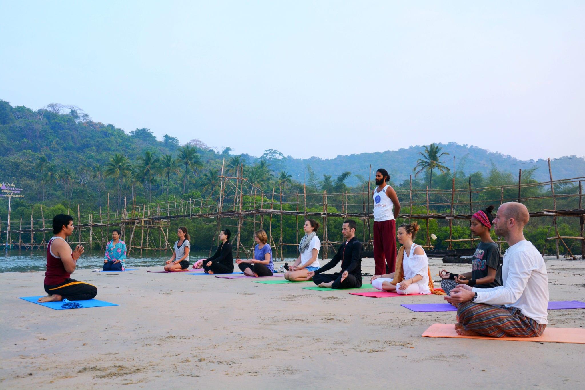 200 Hrs Holistic Yoga Teacher Trainings in Goa, India
