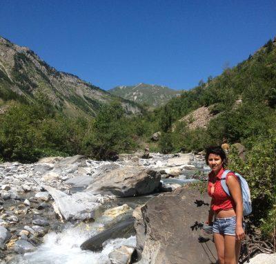 alpine yoga and hiking retreat