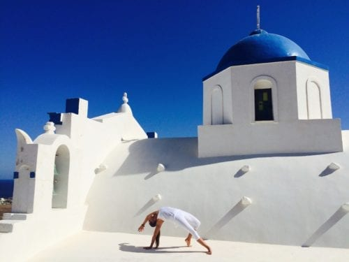 Santorini Yoga Holiday