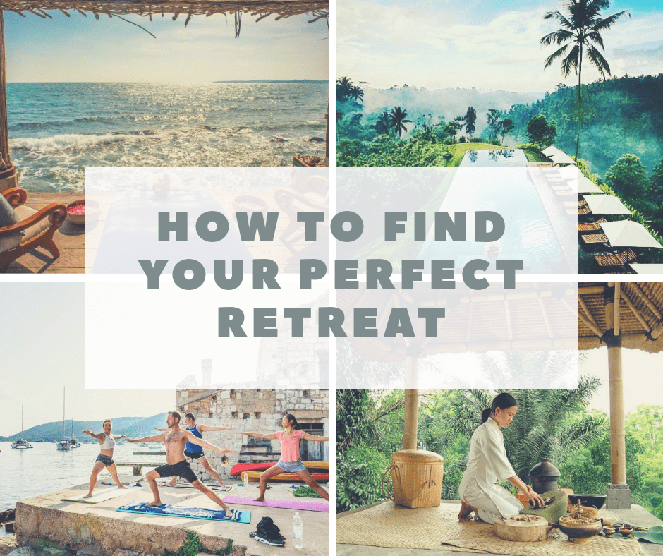 how to find your perfect retreat