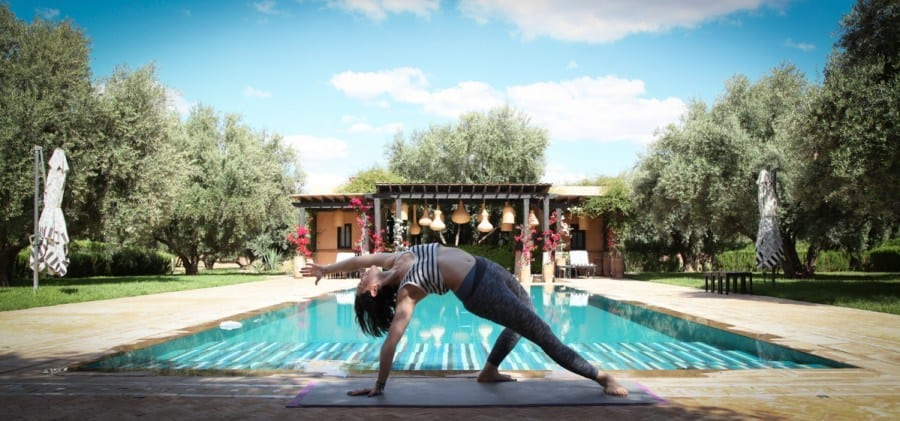 pilates retreat Marrakech