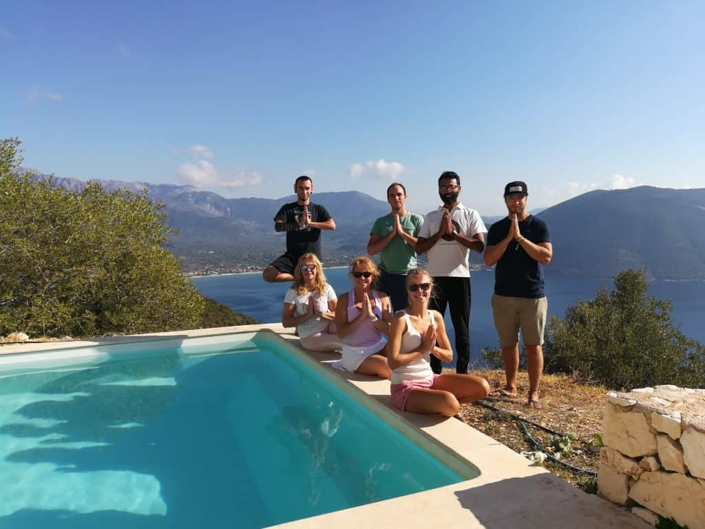 mediation retreat in Lefkada, Greece