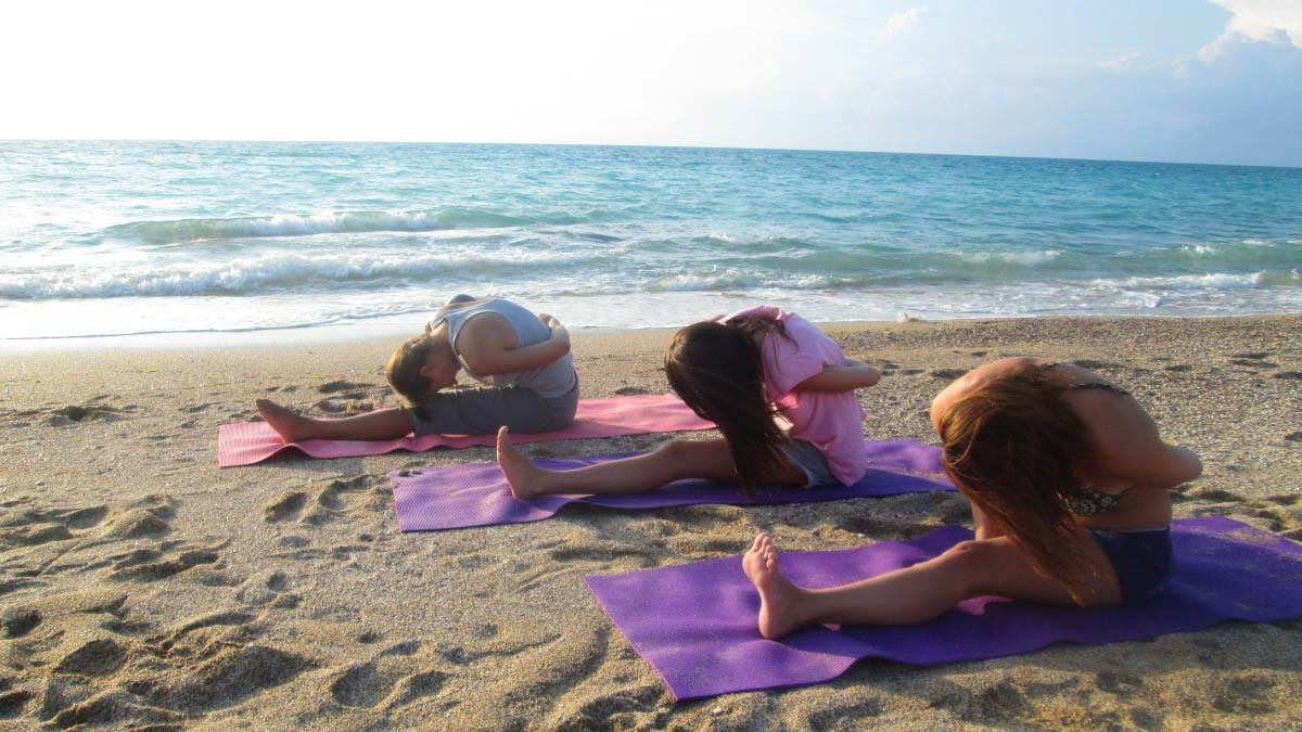 7 night summer beach yoga holiday in Corfu