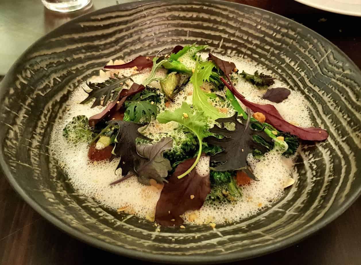 Savoy London vegan menu