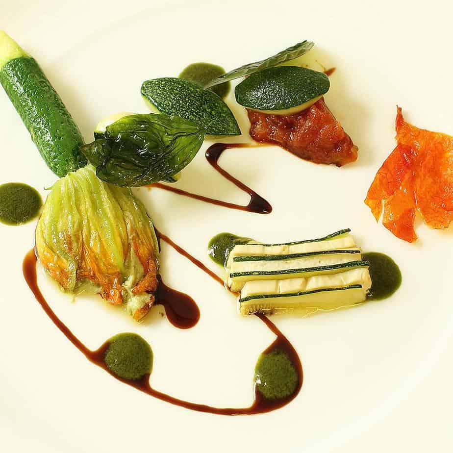 Gauthier vegan tasting menu