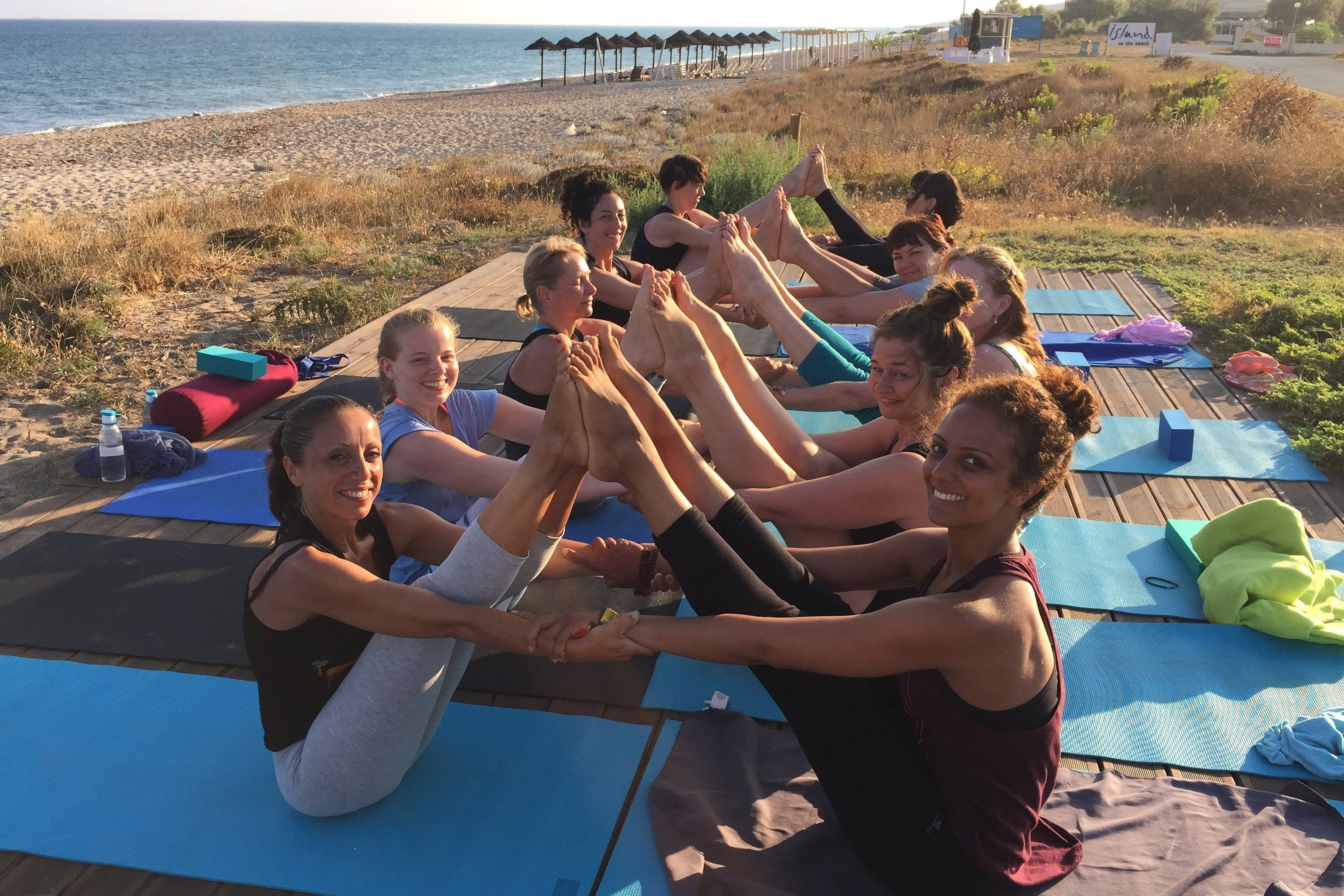 yoga holiday in Corfu