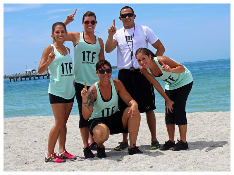 1Team Fitness Retreats in Florida, open all year round