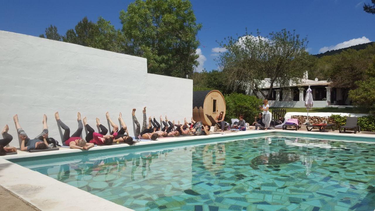 yoga and fitness retreat Ibiza