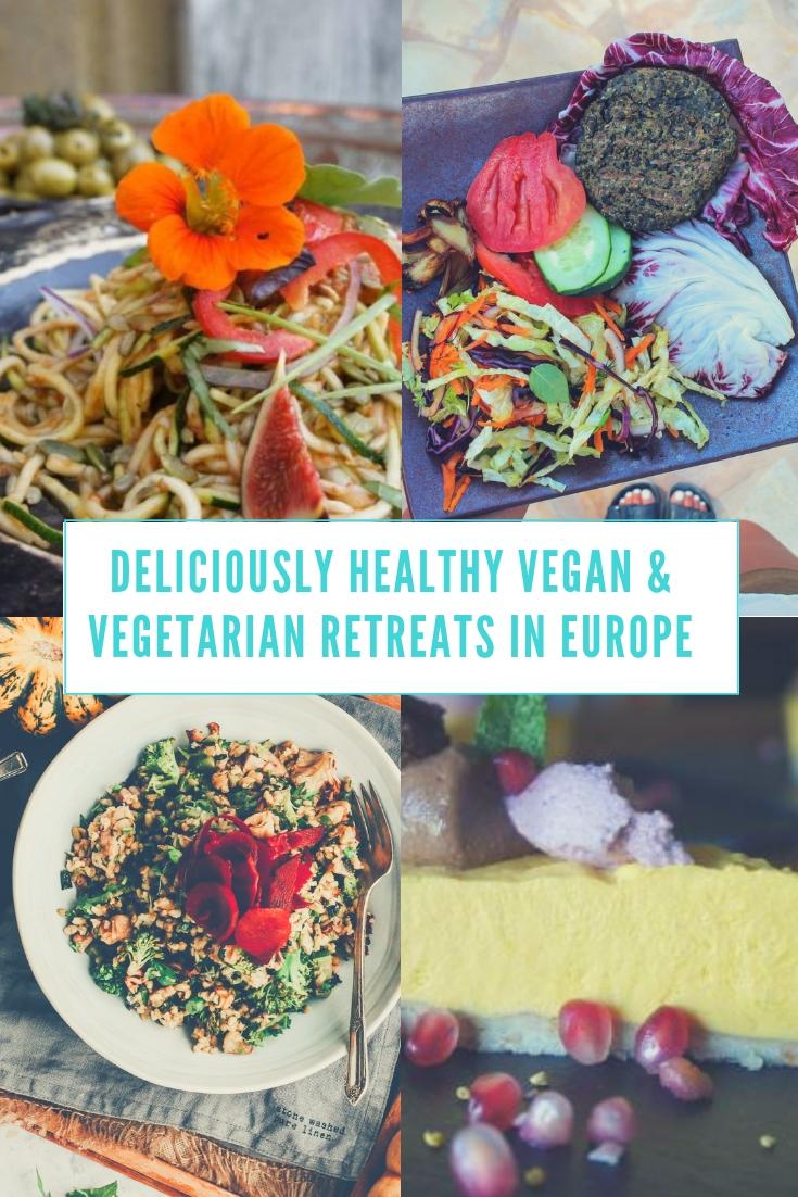 vegan & vegetarian retreats Europe