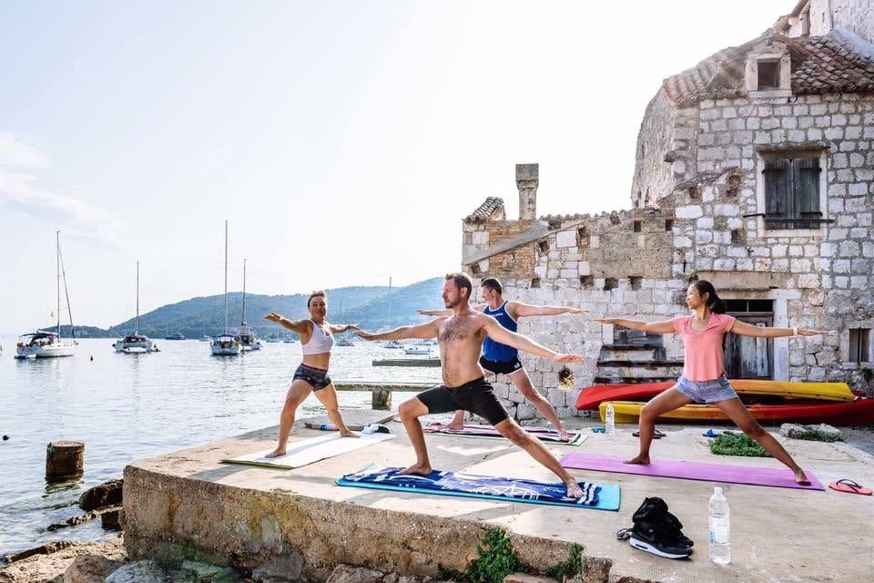 Sailing Yoga Holiday Croatia, available weekly July – October