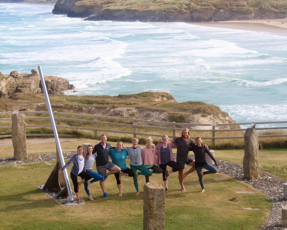 New Year Yoga Retreat, Cornwall, 28 December – 1 January (Friday – Tuesday, 4 nights), 1 – 4 January (Tuesday – Friday, 3 nights), 28 December – 4 January (Friday – Friday, 7 nights)