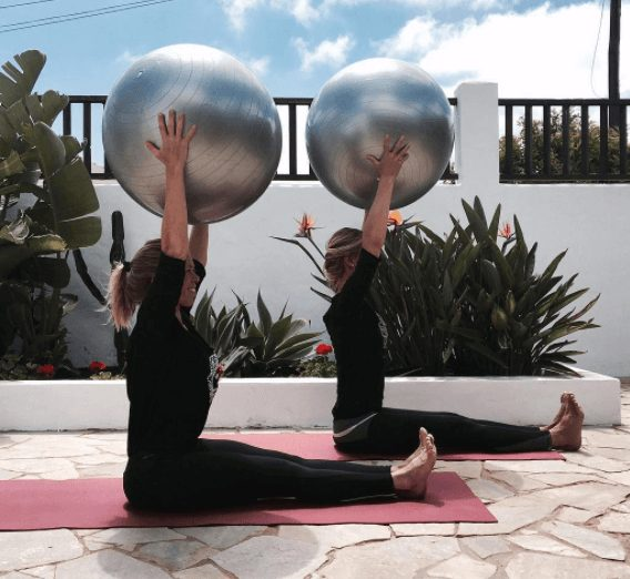 pilates and barre retreat Spain
