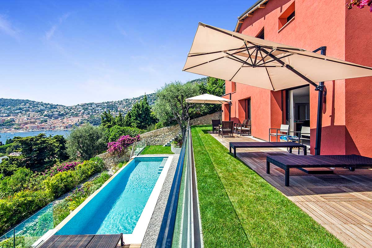 Luxury Private Villa in the French Riviera, Sleeps 7 / 3 bedrooms / 2 bathrooms