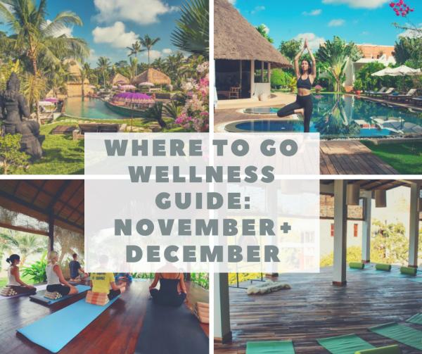 december yoga retreats