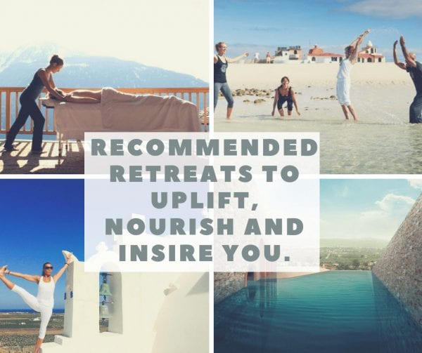 retreats to nourish you