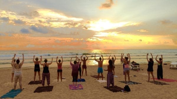 yoga holiday in Sri Lanka