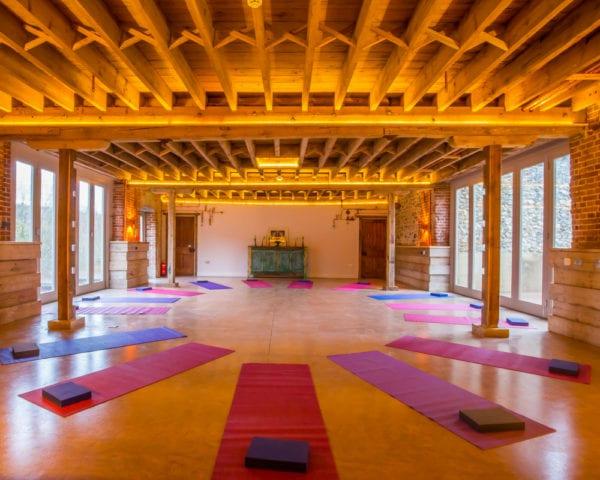 bank holiday yoga retreat Norfolk