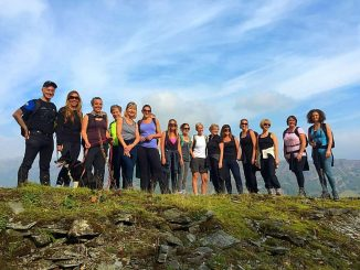 hiking and yoga retreat in the Lake District