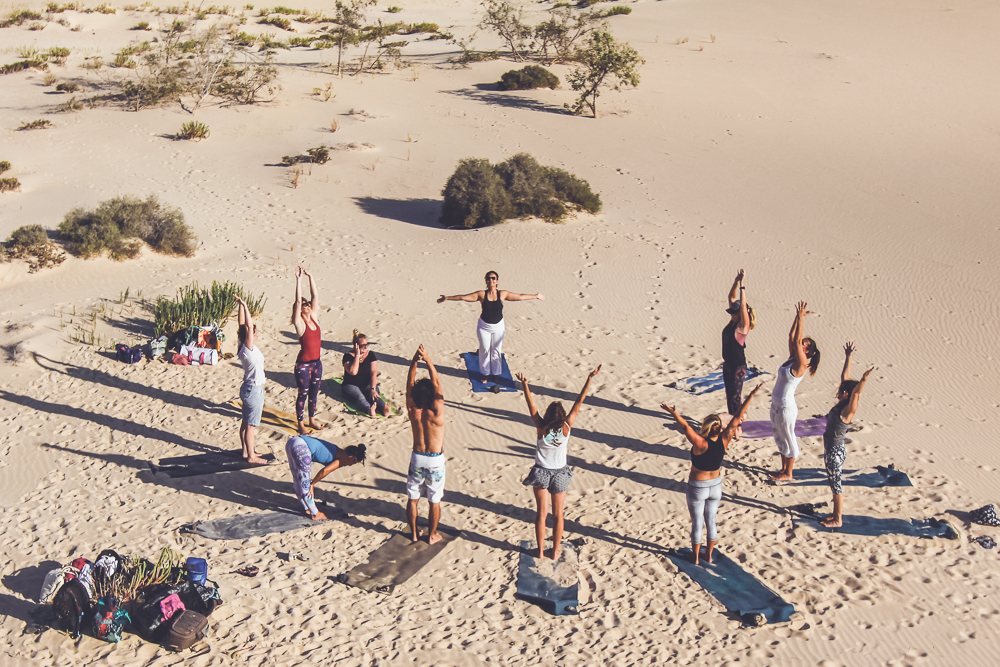 yoga retreat in Fuerteventura