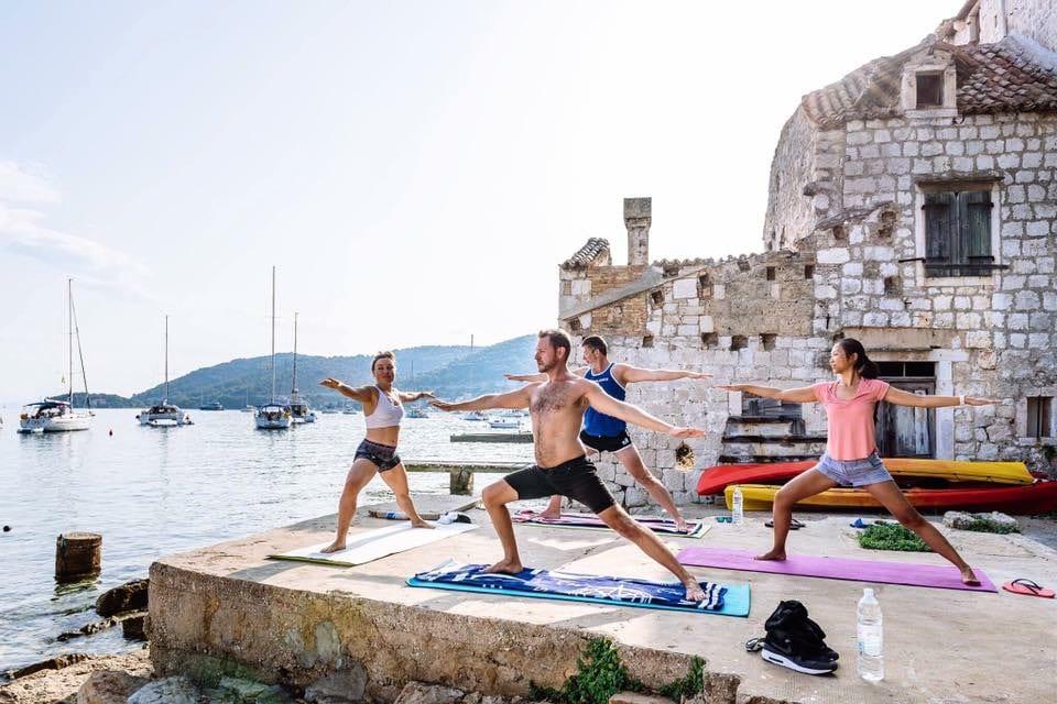 sailing yoga holiday croatia