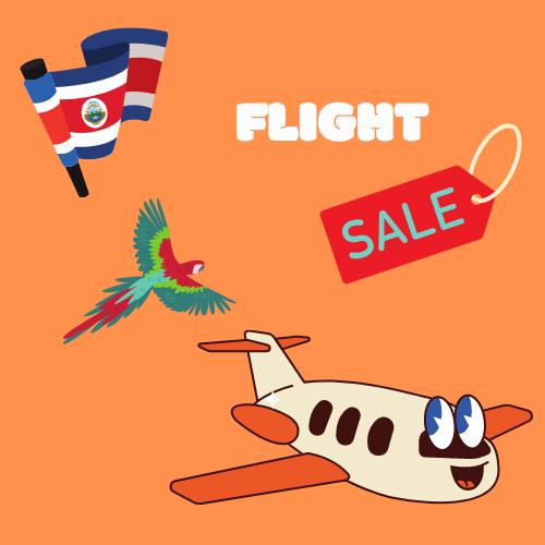 flight deals costa rica